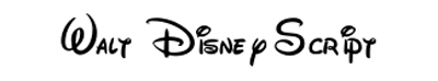 Fonts - Walt-Disney-Script