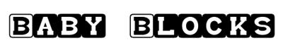 Fonts - Baby Blocks